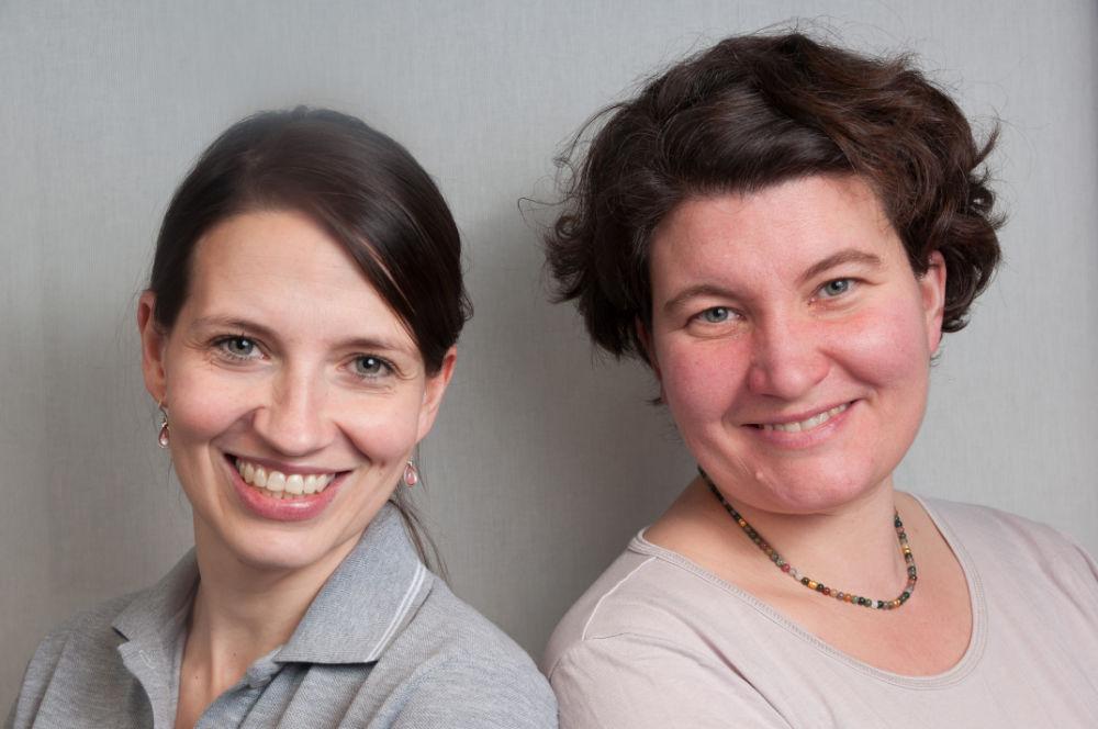 Portrait der Frauenärztinnen Dr. Kania und Frau Hitzegrad